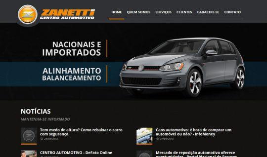 <p>O Zanetti Centro Automotivo é uma tradicional empresa especializada na manutenção de veículos multimarcas e pick-ups, situada em Bonfim Paulista, Zona Sul de Ribeirão Preto (SP).</p> <p>O website foi inteiramente desenvolvido por mim, desde o layout responsivo, banners, programação front-end, back-end e SEO.</p>  | Portfólio Vander Amorin