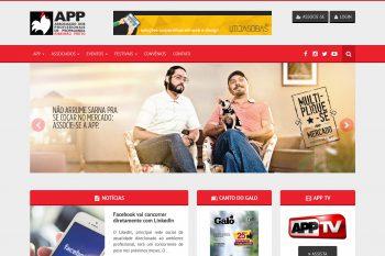 Website da APP Ribeirão