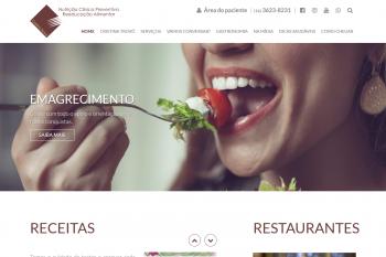 Site Cristina Trovó Nutricionista