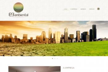 Site da E3 Ambiental