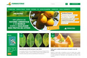 Site / Portal do Fundecitrus