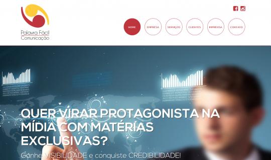 <p>Palavra Fácil é uma empresa de comunicação e assessoria de imprensa que atua na região das cidades de Ribeirão Preto e Franca.</p> <p>Trabalhei como desenvolvedor front-end e coordenador de desenvolvimento, em parceria com a UTI das Ideias.</p>  | Portfólio Vander Amorin