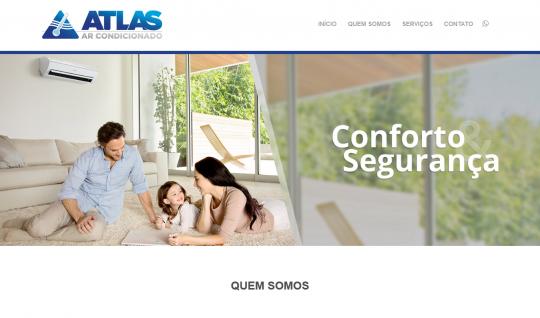 <p>Desenvolvimento full stack e direção de arte do site da Atlas Ar Condicionado, com back-end sob a plataforma WordPress.</p>  | Portfólio Vander Amorin