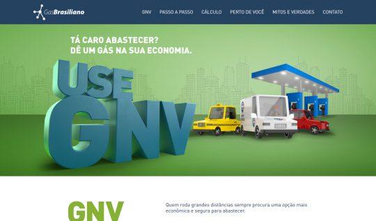 <p>Desenvolvimento de landing page para campanha de mídia do GNV (Gás Natural Veícular), da Gás Brasiliano.</p> <p>Na página é possível fazer cálculos de custo x benefício na utilização de gás natural em veículos, além de consultar, em um mapa interativo, os postos de combusítveis e oficinas mecânicas que trabalham com GNV.</p> <p>A calculadora foi desenvolvida totalmente com JavaScript e o mapa integrado com Vue JS.</p> <p><small><em>Desenvolvido em colaboração com a Alta Comunicazione.</em></small></p>  | Portfólio Vander Amorin
