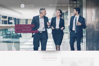 Site institucional Lemos Advocacia