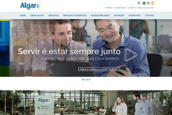 Site do Grupo Algar