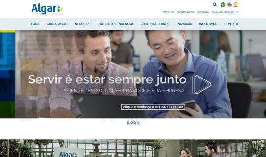 Site do Grupo Algar